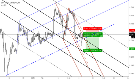 EURUSD: Euro short (revised) .**Out of position**..
