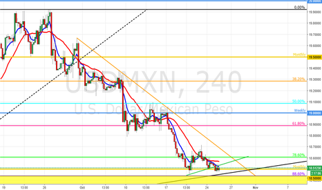 USDMXN: USD/MXN SWING LONG