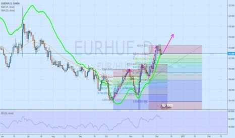 EURHUF: 4th step up