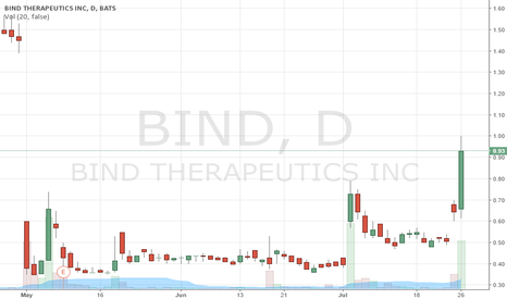 BIND: $BIND potential spike for tomorrow 2016/07/27