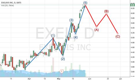 EXEL: EXEL Elliot Wave?
