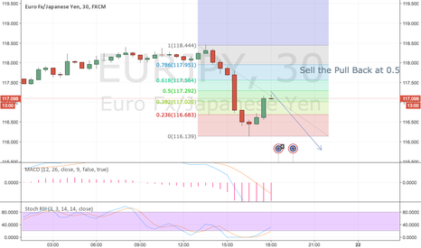 EURJPY: Sell the Pull Back