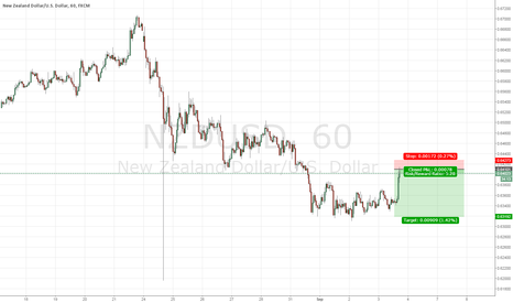 NZDUSD: I just want to get the right swing for this selling point