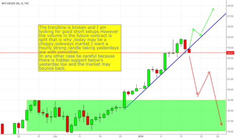 USOIL: The correction may be very close.
