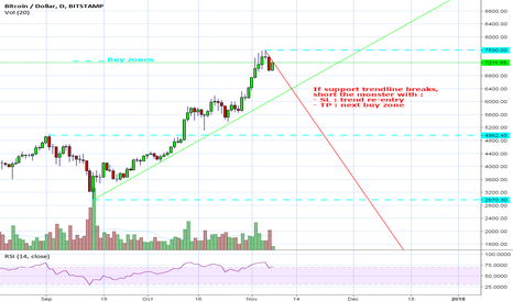 BTCUSD: Simple trades with bitcoin