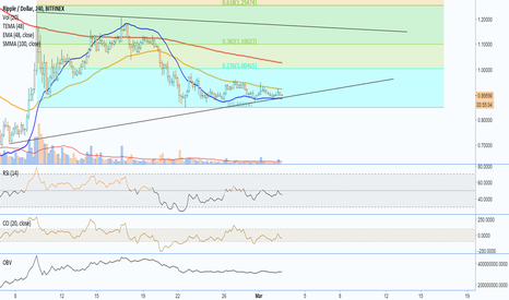 XRPUSD: XRPUSD - SItting on the .236, consolidation or breakdown