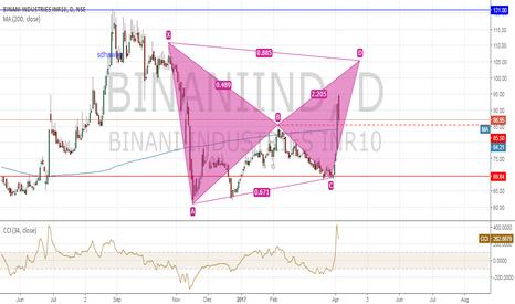 BINANIIND: binani bear bat pattern