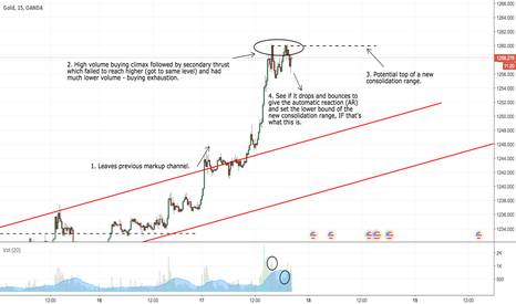 XAUUSD: XAU/USD Gold Potential Consolidation Analysis