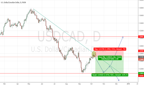 USDCAD: POSSIBLE MOVE ON USDCAD IN 1D frame