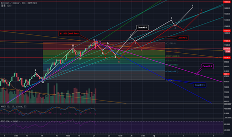 BTCUSD: BTCUSD (Bitfinex) Mid-term Predictions (Log scale) Update