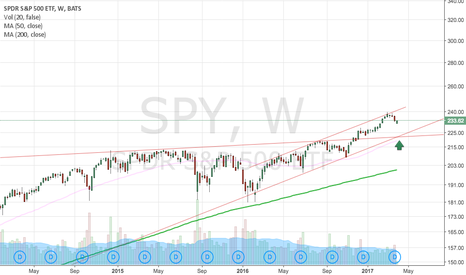SPY: SPY LOOKING FOR SUPPORT @ 222