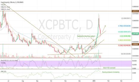 XCPBTC: Counterparty XCP preparing for next run potential +77%
