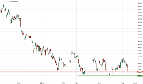 CC1!: Cocoa is facing a strong support