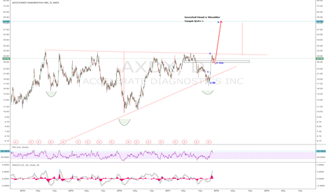 AXDX: AXDX: Daily Chart. Wave 4 Correction could test $25