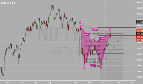 NIFTY: NIFTY CYPHER Pattern can we see some correction ?