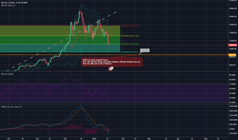 BTCUSD: Bitcoin will get 8500 - the best price you can get in long!