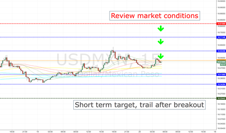 USDMXN: USDMXN SHORT ENTRY LEVELS, TOKYO SESSION ONLY