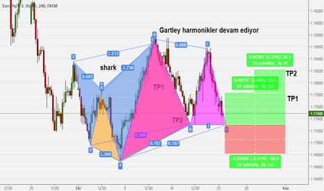 EURUSD: EUR USD  HARMONİK GARTLEY