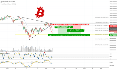 BTCUSD: Bitcoin short position