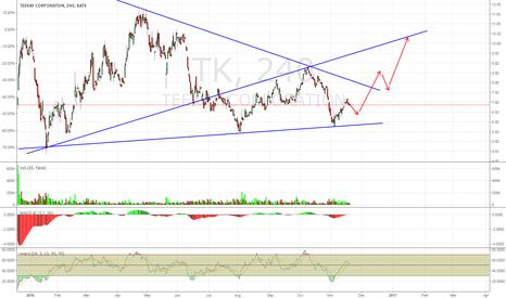 TK: Buy TK on Any Dip in the Next 1-2 Weeks