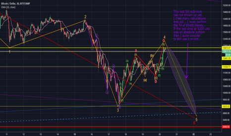 BTCUSD: I believe there's still a lower low, but strange things happen..