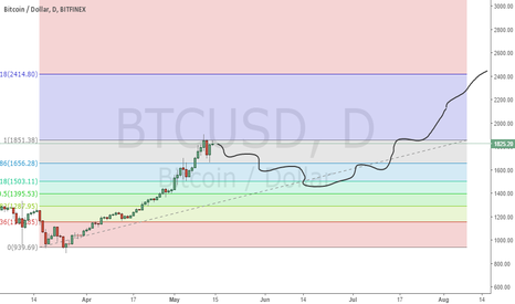 BTCUSD: Buy more at $1600 (Buy and Hold)