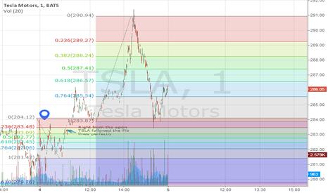 TSLA: TSLA Following the fibonacci lines