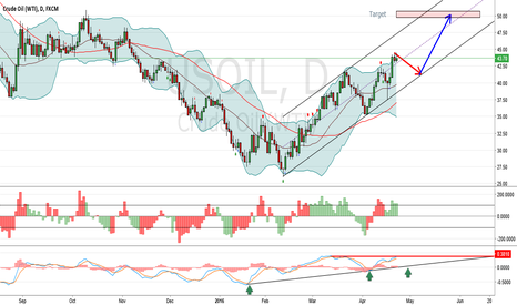 USOIL: Potential long on Crude Oil