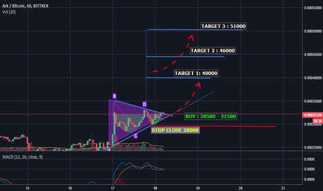 ARKBTC: ARK Hand cup and Triangle Pattern