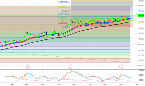 FB: FB Buy - Target $189 - Playing it with Diagonals