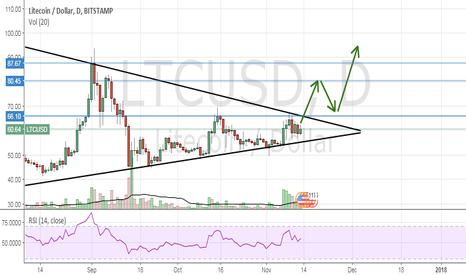 LTCUSD: LTCUSD - Triangle Breakout to $80