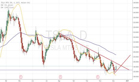 TSLA: De olho na Tesla Motors.