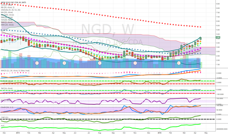 NGD: pennies to thousands long  gold mining candidare in strong group