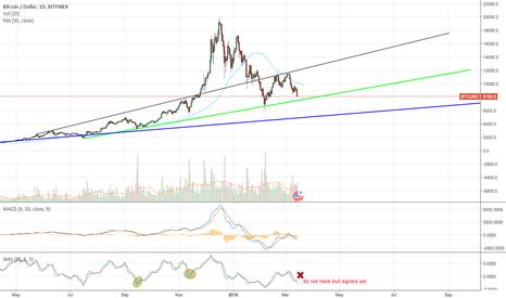 BTCUSD: BTC/USD do not have bull signals yet