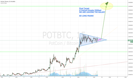 POTBTC: PotCoin Leaving The Galaxy - Booster Pack Engaged - ALL ABOARD!