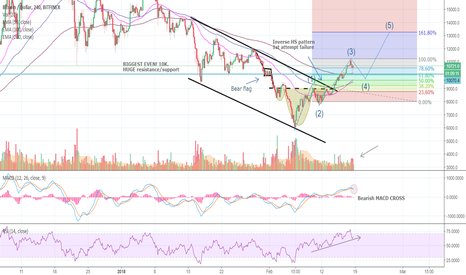 BTCUSD: BITCOIN will now go UNDER 10k - and then UP to 13k!