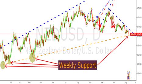 NZDUSD: NZD/USD to bounce hard or fall sharply!! (BUY)