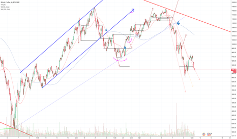 BTCUSD: BTC:USD 1 hour chart DAILY UPDATE (day 17)
