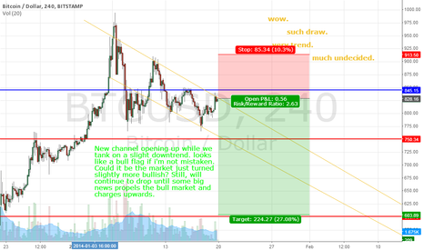BTCUSD: Bearish Channel, taking slight downtrend. Confidence picking up?