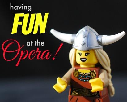 Having Fun at the Opera!