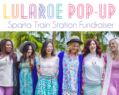 Lularoe Pop-Up Train Station Fundraiser