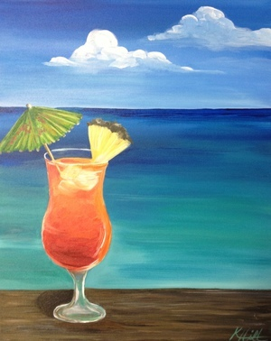 'Cocktails Anyone?' Paint & Sip