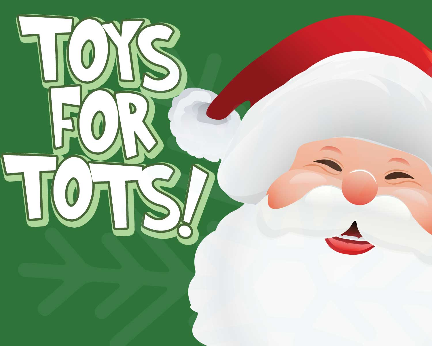 Toys for Tots Operation Toy Train