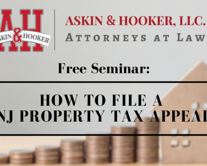 How to File a NJ Property Tax Appeal