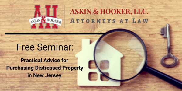 Distressed Property Seminar