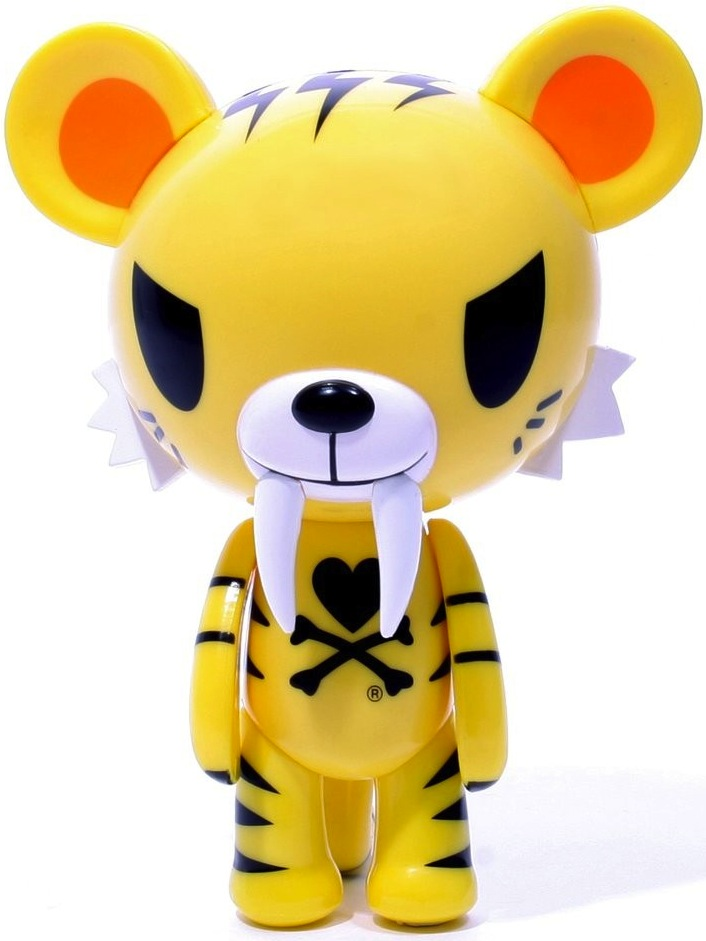 sale retailer 3fe78 8ddb9 Tiger - yellow Tiger by Tokidoki (Simone Legno) fr ...
