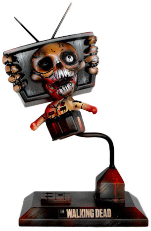 Zombie tv TV Head by Fuller Designs | Trampt Library