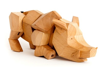 Victor The Wild Boar Cubebot By David Weeks From A Trampt Library