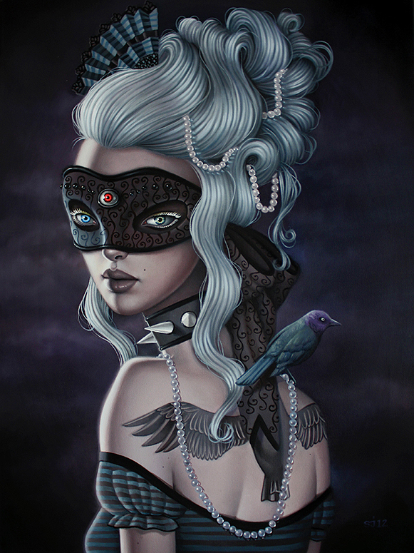 Masquerade Oil By Sarah Joncas Trampt Library