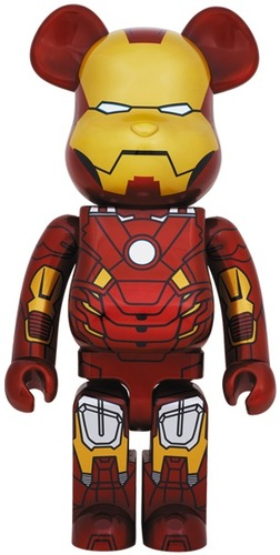 Iron Man Mark Vii Be At Rbrick 1000 Be At Rbrick By M Trampt Library